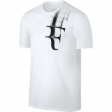 Tennis T-Shirt Nike Court Tee RF 871729-100 weiss