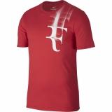 Tenisové tričko Nike Court Tee RF 871729-653 červené