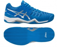 Tennisschuhe Asics Gel Resolution 7 Clay E702Y-4393 blau
