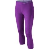 Dívčí legíny Nike Pro Hypercool Capri 830525-584 fialové