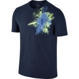 Tennis T-Shirt NikeCourt RF Tee 831482-410 blau