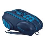 Tenisový bag Wilson  Vancouver ULTRA 15 Pack modrý