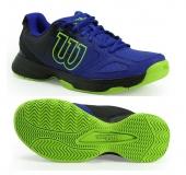 Kinder Tennisschuhe Wilson Kaos Comp Junior WRS321830 blau