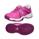 Kinder Tennisschuhe Wilson Envy JR WRS322320 rosa/violet