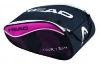 Taška na boty HEAD Tour Team Shoe bag 2017 růžový