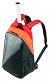 Tennisrucksack HEAD Elite Backpack 2017 grau-orange
