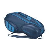 Tenisový bag Wilson Vancouver Ultra 9 Pack modrý
