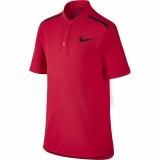 Dětské tričko Nike Advantage Polo 856114-653 červené