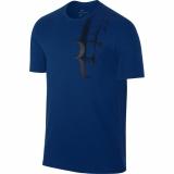Tennis T-Shirt Nike Court Tee RF 871729-653 blau
