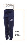 Dětské tepláky Nike Training Tights 856205-451 modré nové