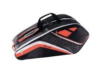 Tennisbag Babolat Team Line X6 fluoro rouge