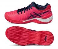 Damen Tennisschuhe Asics Gel Resolution 7 Clay E752Y-2049 pink