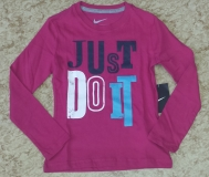 Mädchen T-Shirt Nike Novelty Long Sleeve T-Shirt 547403-625 pink