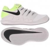 Pánská tenisová obuv Nike Air Zoom Vapor X Clay AA8021-001 bílo-zelená