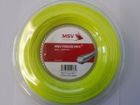 Tennissaite MSV FOCUS HEX neon yellow - Saitenrolle