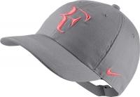 NIKE kšiltovka RF NikeCourt AeroBill šedá