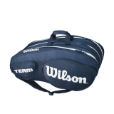 Tennistasche Wilson Team III 12 Pack blau