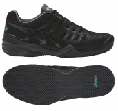 Tennisschuhe Asics Gel Resolution 7 Clay E702Y-9095 schwarz