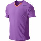 tričko Nike premier Rafa OZ OPEN CREW- 523209-554 fialové