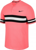 Tennis T-Shirt NIKECOURT DRI-FIT ADVANTAGE 887505-676 lava