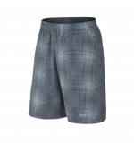 Tennis Kurzehose Nike Gladiator 10 Plaid Short 620738-084 grau