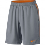 Herren Kurzehose Nike Court Dry Short 830817-005 grau mit orange
