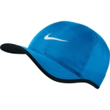 Tenniskappe Nike Feather Light 679421-435 blau