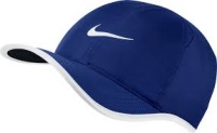 Tenniskappe Nike Feather Light 679421-455 blau