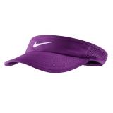 Tenisový dámský kšilt Nike Featherlight Visor fialový 744961-556