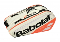 Tennistasche Babolat Pure STRIKE RH X12 2018 weiß-orange
