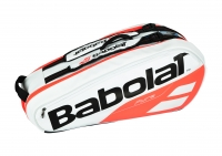 Tennistasche Babolat Pure DRIVE RH X6 2018 weiß-orange
