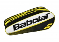 Tennistasche Babolat Racket Holder X5 Classic Club gelb