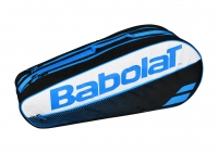 Tennistasche Babolat Racket Holder X5 Classic Club blau