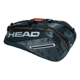 Tennistasche Head Tour Team 9R Supercombi 2018 schwarz