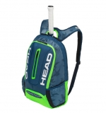 Tenisový batoh Head Tour Team Backpack 2018 navy-green
