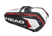 Tenisový bag HEAD Djokovic 9R Supercombi 2018