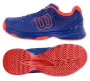 Kinder Tennisschuhe Wilson Kaos Comp JR WRS323340  blau