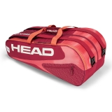 Tennistasche Head Elite 9R Supercombi pink/rot
