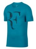 Dětské tričko NikeCourt Dry RF modré AO2958-430