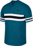 Tennis T-Shirt NikeCourt Dry Advantage Tennis Polo 887505-301 blau