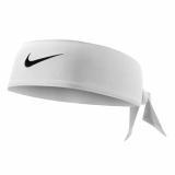 Stirnband Nike DriFit Head Tie weiss