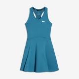 Dívčí tenisové šaty NikeCourt Pure AO8355-430 modré