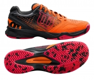 Tennisschuhe Wilson Kaos Comp WRS323890 orange
