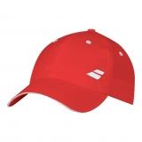 Kinder Tenniskappe Babolat Basic Logo Cap 5JS18221 rot