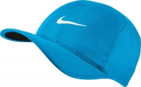 Tennis Kappe Nike Feather Light 679421-482 blau