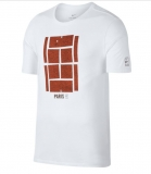 Tennis T-Shirt Nike Court AO8581-100 weiss