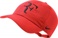 Tenniskappe NikeCourt RF AeroBill H86 AH6985-634 rot