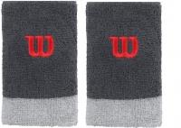 Potítko WILSON Extra Wide W Wristband šedá