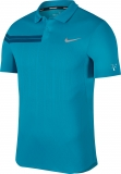Tennis T-Shirt NikeCourt Zonal Cooling RF Advantage 888202-430 blau