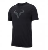 Tennis T-Shirt NikeCourt Rafa 889783-010 schwarz
